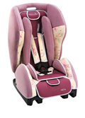 Автокресло STM Twin One IsoFix Lifestyle, pink-flower