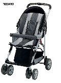 Коляска RECARO Travel System bellini Black/Grey