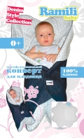 Детский конверт Ramili Baby Denim Style Collection